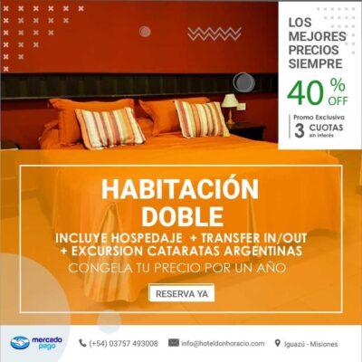Habitación Doble en Iguazu