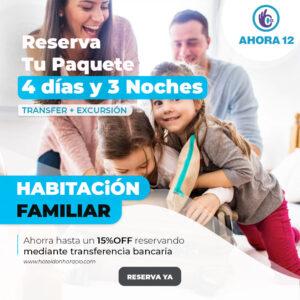 Promo Habitacion familiar