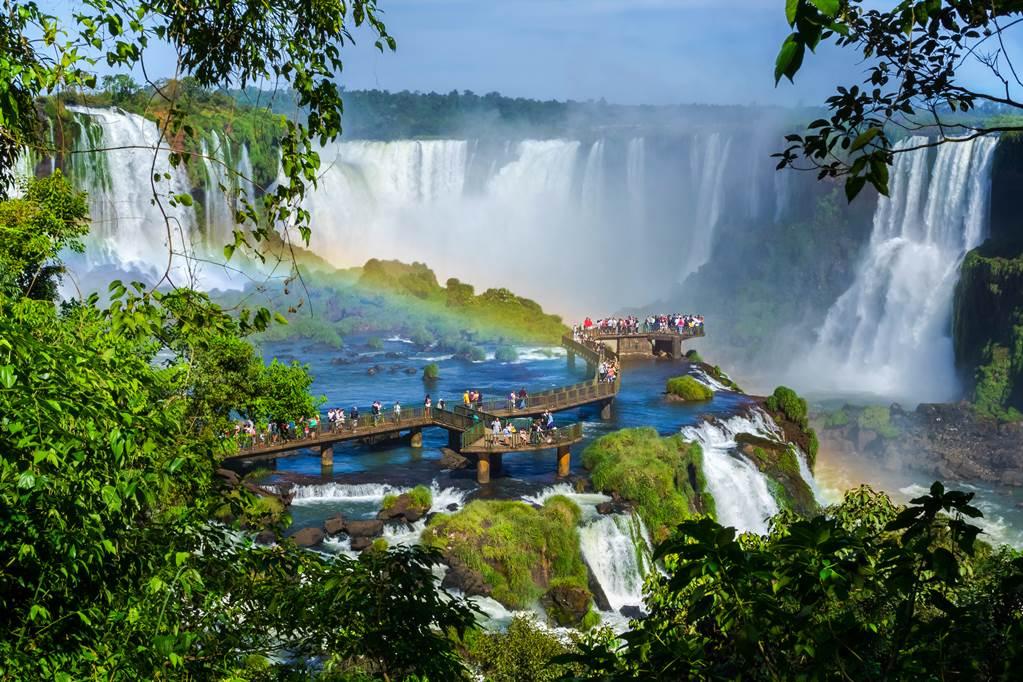 Maravilla natural cataratas de Iguazú 2020